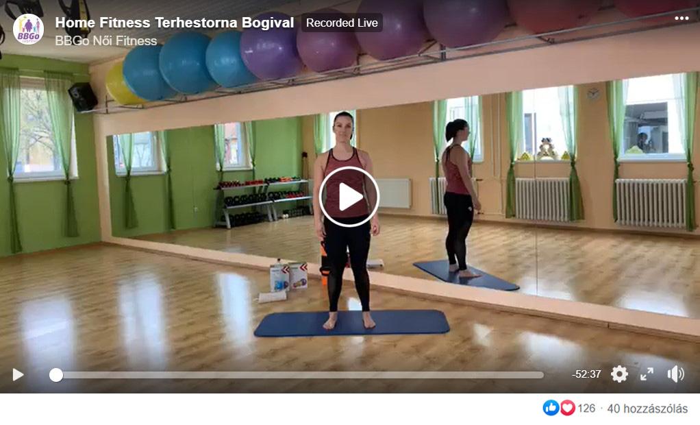Terhestorna Online edzés kismamáknak